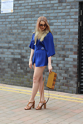 Laura Rogan - Little Mistress Playsuit, Zara Bag, Moda In Pelle Shoes - The New Neutral