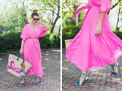 Vita K. - Asos Dress, Misa Bag, Daisy Street Shoes - Siesta!