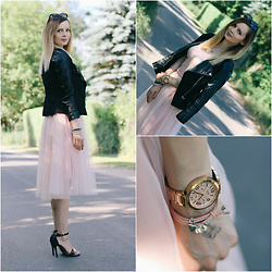 Anna Grochowska - Sheinside Skirt - Romantic girl