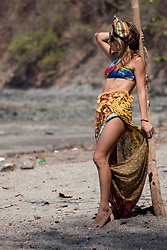 Whitney Valverde -  - Mix Prints At The Beach