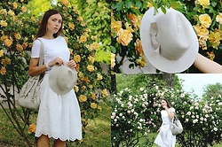 Lena W -  - AIRY WHITE LOOK