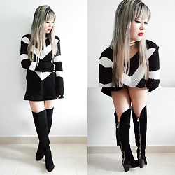Thais Chung - Santa Lolla Over The Knee Boots - OVER THE KNEE