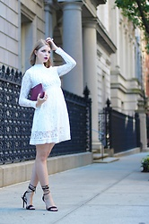 Julia - Mooerkerr Dress, Angela Roi Bag, Aldo Sandals - Gothic chic