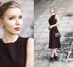 Margo Bryksina - Zara Dress, Zara Clutch Bag - N a i s s a n c e