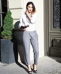 Narine Torosyan - Missisboss Cigarette Pants - Office Style