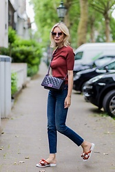 Lisa Rvd - Levi's, Miista, Set, Fendi, Chanel - Rustred | lisarvd.com