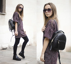 Dariia - Fme Dress, Zara Backpack - The Crisis