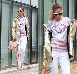 Ruxandra Ioana - Mr. Gugu & Miss Go Sweatshirt, Jolly Chic Jacket - Shine
