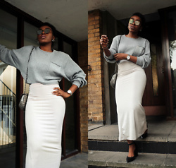 Remi Afolabi - Missguided Jumper, Missguided Skirt, Asos Sunglasses - The Run-Up to Summer