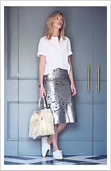 Valerie Brems - Isabel Marant Etoile Shirt - Shine bright!
