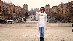 Krissy Pronto - Aldo High Ankle, H&M Coat - When In Armenia