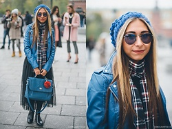 Anna Sever - Colins Jacket - Streetstyle mbfwr