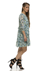 Nidhi.s - Shiflee Floral Printed Babydoll Dress - O' bella new in town ...shop @shiflee