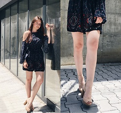 Anne G. - Abercrombie & Fitch Dress, Bata Leather Sandals - Boho updated