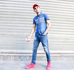 Ahmed Imoudrog - Dml Jeans Blue Jean - DML JEANS