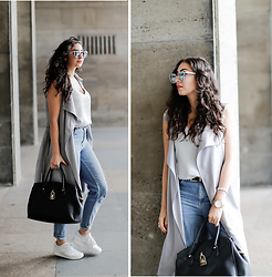 Samieze -  - How to style a sleeveless trench?