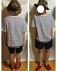 Keysyu Takagi - Globalwork Hat, Coen T Shirt, Rageblue Tank Top, Uniqloandlemaire Shorts, Vans Shoes - Tomorrow outfit