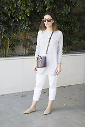 Frederica Ferreira - Zara Shirt, Zara Shoes, Zara Bag, Tous Necklace, Pimkie Sunglasses - Soft Colors