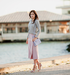 Viktoriya Sener - Sammydress Shirt, Sammydress Culottes, Rebecca Minkoff Bag, Public Desire Sandals - SUMMER EVENING
