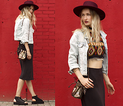 Eva Velt - Hat, Top, Jacket, Ring, Bag, Skirt, Bracelets, Wedges - First video look!!! Mundivagant
