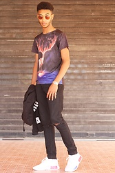 Achraf Simki - Home >Men > T Shirts Round Neck 3d Flame Elk Print Short Sleeve T Shirt For Men, Home»Men»Hoodies & Sweatshirt Mens Fashion Sports Hoodies Casual Zipper Hooded Jackets, Home » Jewelry Men's Multifunctional Digital Men Watch With Stainless Steel Strap, Home >Shoes>Men's Shoes > Athletic Casual Men's With Solid Color And Lace Up Design - 3D Flame Elk