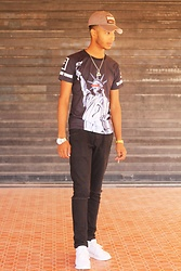 Achraf Simki - Home » Men T Shirts Fashion Men's Pullover Statue Of Liberty Printed T Shirt, Home » Jewelry Men's Multifunctional Digital Men Watch With Stainless Steel Strap, Home»Jewelry»Men's Jewelry»Men's Rings Halloween Vintage Punk Bronze Evil Eye Ring, Home >Shoes>Men's Shoes > Athletic Casual Men's With Solid Color And Lace Up Design - Dix Neuf