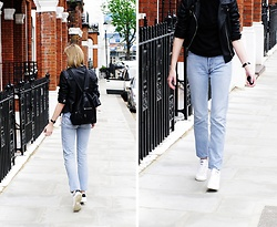 Katarina Vidd - Clothing On My Blog, Levi's® 501 - Basic in London.