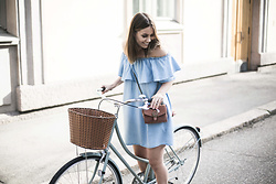 Katarina Lilius - Zara Dress - DENIM & PINK