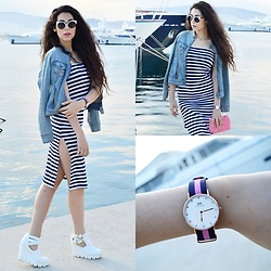 Marina Mavromati - Daniel Wellington Watch, Cndirect - Nautical...