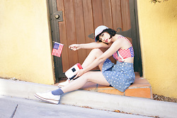 Amy Roiland - Shellys London Shoes - Happy 4th of July !