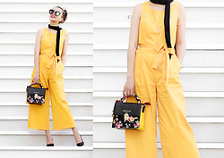 Queen Horsfall - Ny&Company, Nina Shoes, Queenhorsfall - How to wear yellow this summer