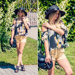 Charmeuse - Floral Blouse - Www.charmeuse.pl