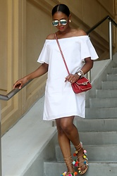 Monica Awe-Etuk -  - AWE BY MONICA: ON THE STREETS IN WHITE AND POM POMS