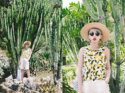 Kennie Cheng - Zara Vest, Primark Bag, Forever 21 Sunglasses - LEMON TREE