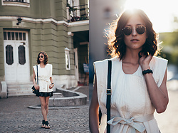 Tesa J. - Ray Ban Sunglasses, Isabel Marant Jacket - Summer afternoon