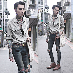 IVAN Chang - H&M Shirt, Asos Jeans, Asos Shoes - 140716 TODAY STYLE