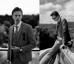 Oliver Lips - Iwc Portofino Watch, Fidelio Three Piece Suit - Vintage Cars and Luxury Watches