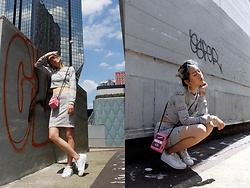Candy Rosie - Forever 21 Top, Forever 21 Skirt, Adidas Sneakers - BABE