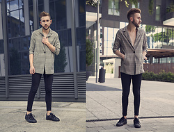 Alberto Degano - Zara Jacket, Cheap Monday Jeans, Adidas Shoes - 18.7