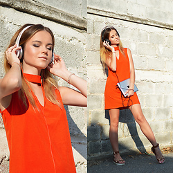 Tamara Bellis - Migato Greek Sandals, Cndirect Summer Dress - Sunny Music Side