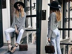 Bea G - Top, Jeans, Shoes, Bag - Mastering Parisian Style
