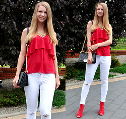 Ania Zarzycka - Gamiss Blouse, Tally Weijl Pants - I want you in my dreams