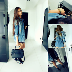 Natalia -  - Oversized denim jacket