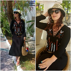 Rebel Takipte - Jolly Chic Ethnic Dress - Bohem Dress