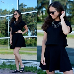 Sofija Lukjanska - H&M T Shirt, H&M Skirt, H&M Necklace - SUMMER