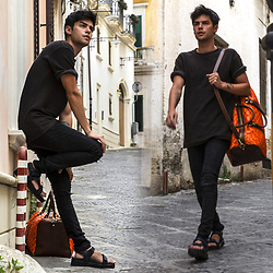 Vini Uehara - Guidomaggi Thailand, Guidomaggi Thailand - BLACK AND ORANGE