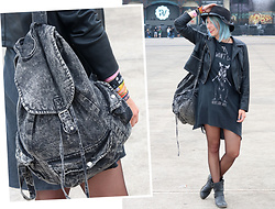 Lavie Deboite -  - Festivallook - Blue Hair