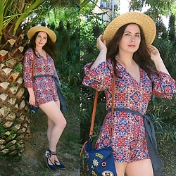 Oksana - Asos Romper, Asos Sandals - Corner of the Earth