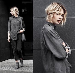 Ebba Zingmark - 5preview Shirt, Monki Pants, Charles&Keith Bag, Charles&Keith Shoes - ZOE