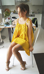Ceci Bloom - Sammydress Dress - Simple yellow :) day